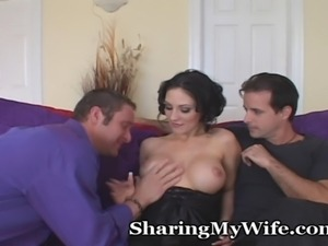Her pleasure is the most important things to keep this couple happy...so the...