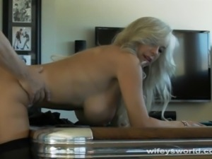 Wifey is sex surrogate and she aims to instruct cocks to last longer and fuck...