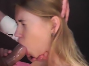 Facial lover gets a mouthful of cock