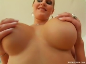Prime Cups Big tit nurse's pussy opens for cock free