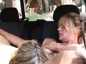 Debi Diamond has fire in her eyes as she gets her love hole eaten by lesbian...