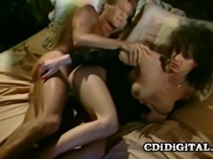Hot babe Aja gets her pussy drilled by her man and receives a load of cum on...