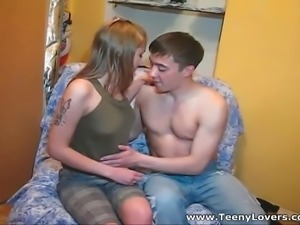 All teen chicks are sluts inside and even if this cutie plays shy or whatever...