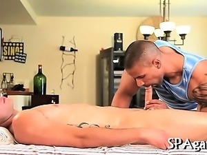 Exciting homosexual oral-sex