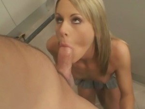 Babysitter courtney simpson kitchen fuck