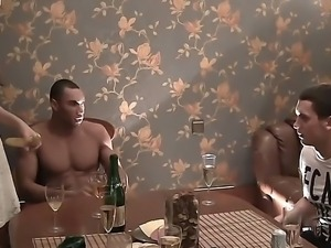 Hot and amateur party with Anika, Mancy, Marika and Marya in the sauna