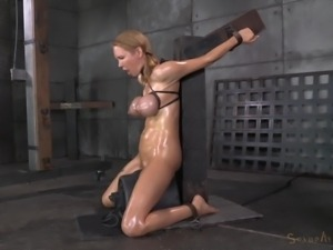 tits tightly bound