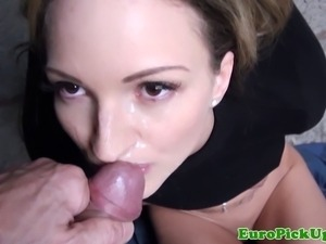Picked up petite eurobabes creamy facial for some extra cash