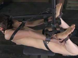 slave girl is bound and gagged then violated