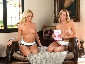 Brett Rossi with juicy boobs and hairless muff loves masturbating for you to...