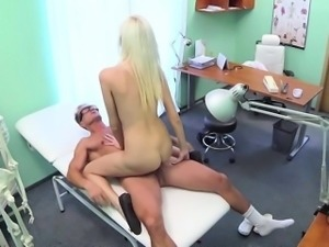 Naughty patient wants the doctors cock