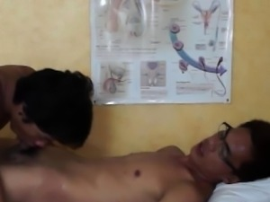 Oriental amateur twink and doctor jizz