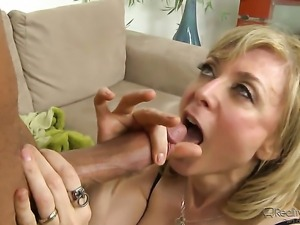 Michael Vegas shows nice sex tricks to Roxanne Hall with the help of his...