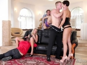 the party has just begun @ swingers orgies #08