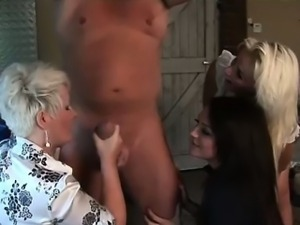 Euro babe facialized after bj and hj