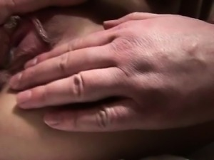 Sexy girl sucks and rides many cocks