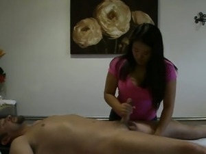 Couple Fuck In Their Friends Massage Room
