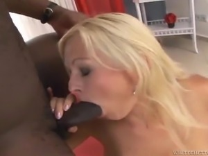 kathy sweet gets a black treat @142 inches of black cock #03