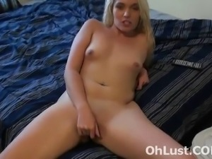 hot young horny blonde