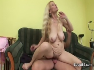 Hairy Mom get fucked by friend of her son free