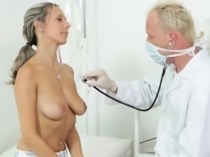 Horny Tracy Visits The Dirty Doctor For Her Pussy Checkup