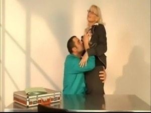 Italian MILF teacher fucks her student