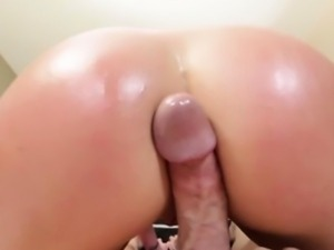Big ass busty beauty pov ass teasing