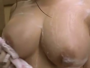 Mako Oda huge boobies caught masturbating