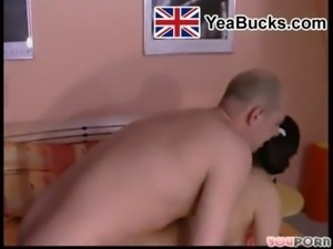 Old man fucks uk teen in bedroom free