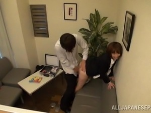 hot work colleague fucked hard