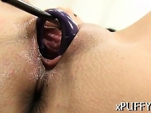 Carnal and wild cum-hole rubbing