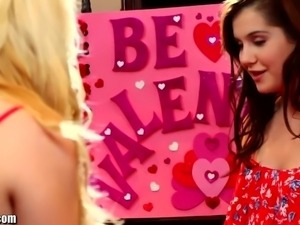 Girlsway Samantha Rone Tribs with Teen