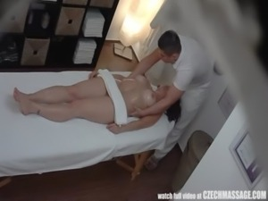 Busty MILF Gets Fucked During Massage free
