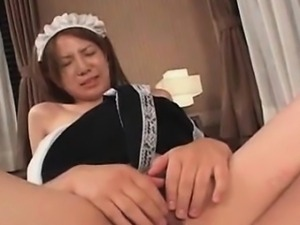 Teen asian maid gets hairy cunt rammed