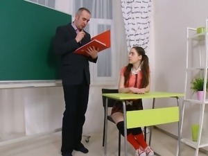 Julia and the old teacher