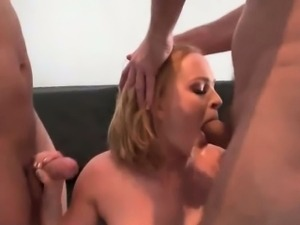 Dad and son fucking hard american busty blond