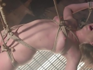 juliette is tied up with ropes