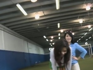 College Girls Eating Pussy In Oral Sorority Party On Field