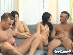 Fucking sex game party