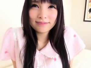 Small Mihono Sakaguchi hairy clit fingered