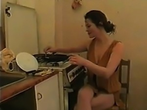 Mother Getting Some Cock In The Kitchen