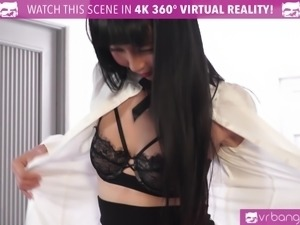 VR Bangers - Room service Japanese girl gets FUCKED HARD