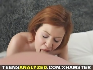 Brenda is especially playful and horny today. Her pussy is all wet and her...