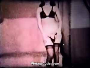 Vixen Lady Exposes Her Body (1950s Vintage)