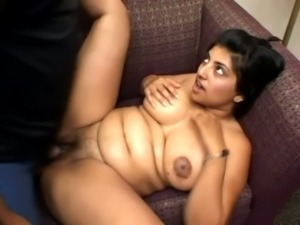 Pregnant Indian Slut Rides Fat Cock With Huge Glans