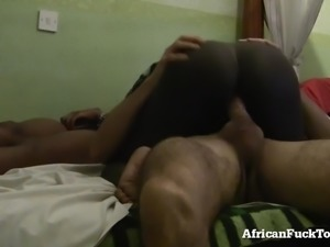 Threesome with 2 Real African Girls!