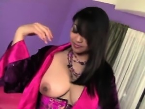 Big Tits Asian Mika Tan Fucking Big Cock Interracial
