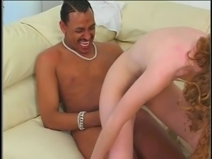 Babysitter does black DP