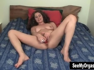 Lusty Alex Cumming In Bedroom