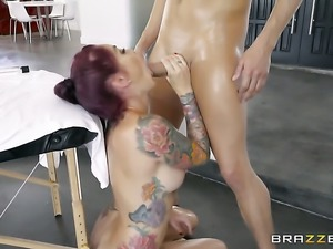 Xander Corvus has unforgettable oral sex with Redhead Monique Alexander